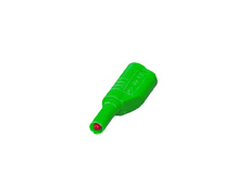 PJP 4mm Green Shrouded Stackable Plug