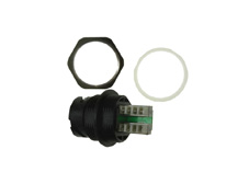 IP67 Plastic Receptacle Housing with Shielded Cat.5e RJ45 IDC Jack Bayonet locking