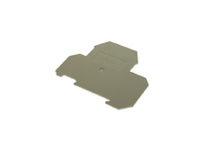 End plate to suit 2.5-4mm Double deck Din Terminal