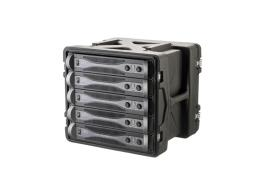 SKB 19 inch 10 Unit Ultimate Strength Case. 444mm Rack Depth