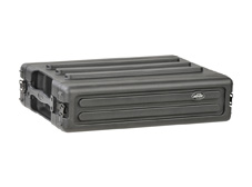 2U Shallow Roto Rack with Steel rails - 27cm deep (rail-to-rail)