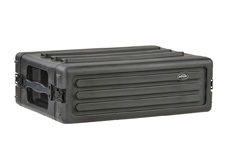 3U Shallow Roto Rack with Steel rails - 27cm deep (rail-to-rail)