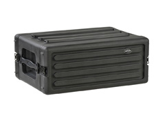 4U Shallow Roto Rack with Steel rails - 27cm deep (rail-to-rail)