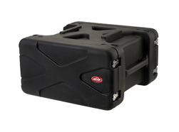 SKB 19 inch 6 Unit Deep Shock Rack. 510mm Rack Depth