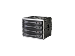 SKB 19 inch 8 Unit Vacuum Formed Standard Rack Case. 400mm Rack Depth
