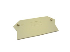 End Plate to suit 2.5-10mm Din Terminal