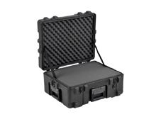 SKB R Series Waterproof Transport Case with foam and wheels. 558mm x 444mm x 266mm