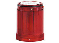 VLL 50mm Module. Steady Light up to 250V AC/DC. Red. Bulb Sold Separately.