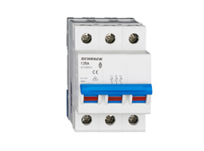 Main Load-Break Switch (Isolator) 125A, 3-pol