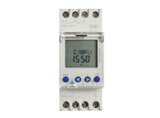 Day / Week Digital Din Rail Mounted Modular Time Switch