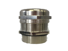 Weyer M16 EMC Brass Cable Gland with Lock Nut