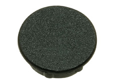 Black cap, 29mm diameter