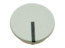 Grey cap with line, 21mm diameter