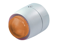 CS1 Amber LED Flashing Beacon and 32 Tone Siren. 24V DC