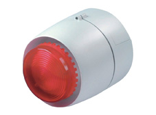 CS1 Red LED Flashing Beacon and 32 Tone Siren. 24V DC