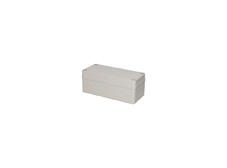 DSE Hi Box 180mm x 80mm x 70mm Enclosure Grey Polyester  Plastic Base and Lid