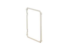 Plastic frame to suit 290x390mm hinged enclosure