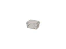 DSE Hi Box 130mm x 100mm x 70mm Draw Latch Enclosure Grey Polyester Base & Lid
