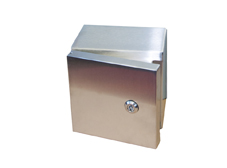 316 Stainless Steel Enclosure 400 x 400 x 200mm IP66.