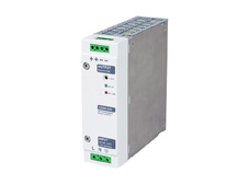 Din rail mount power supply, 24V DC output, 5A, 120W