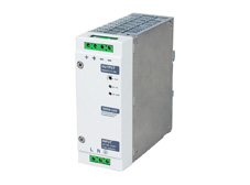 Din rail mount power supply, 24V DC output, 7.5A, 180W
