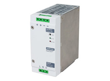 Din rail mount power supply, 24V DC output, 10A, 240W