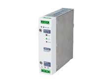 Din rail mount power supply, 24V DC output, 3A, 70W