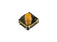 C&K Tact Switch, Soft Actuator 5.2mm High, IP67