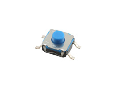 C&K Tact Switch, Soft Actuator 4.3mm High, IP67