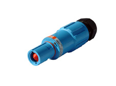 Blue 400A Line Drain Powerline Connector