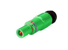 Green 400A Line Drain Powerline Connector
