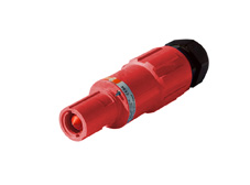Red 400A Line Drain Powerline Connector