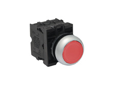 M22 Momentary Red Push Button Switch