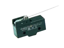 Snap-acting Micro Switch Wire Lever 168mm