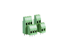 4 pole PCB Terminal block double row