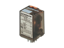PLUG-IN Relay 8 pin 2 C/O 24VDC 10A