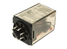 PLUG-IN Relay 8 pin 2 C/O 24VAC 10A