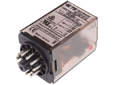 PLUG-IN Relay 11 pin 3 C/O 12VDC 10A