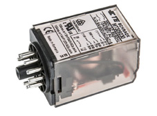 PLUG-IN Relay 11 pin 3 C/O 230VAC 10A