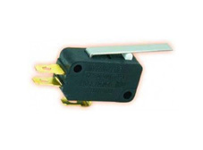 Snap-acting Micro-Switch Hinge Lever 140g