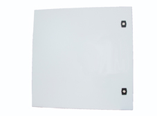 Metal Enclosure 600 x 600 x 250mm IP66 with Gland Plate