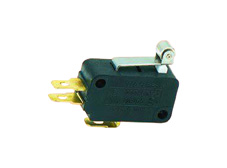 Snap-acting Micro-Switch Short Roller Lever 250g N.Open