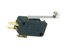 Snap-acting Micro-Switch Long Roller Lever 140g