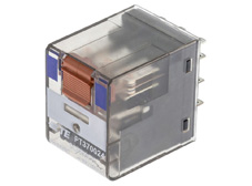 Plug-in Relay 11 pin 3 C/O 24VDC 10A