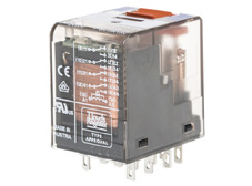 Plug-in Relay 14 pin 4 C/O 24VDC 6A with bipolar LED