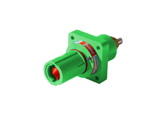 Green 400A Panel Drain Powerline Connector