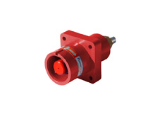 Red 400A Panel Source Powerline Connector