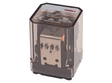 Power Relay 3 C/O 24VDC 16A, plain Cover, AMP Faston 187