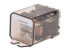 Power Relay 1 N/O 24VDC 30A, cover w. mounting brackets