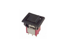 Miniature Rocker Switch Double Pole Double Throw, On-On